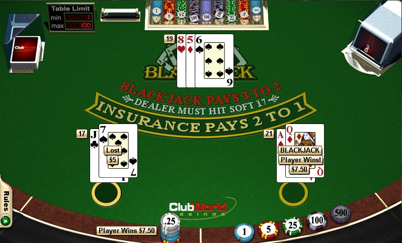Video poker vs blackjack how to play poker card values